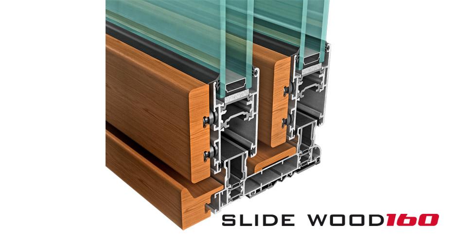 slide wood 160