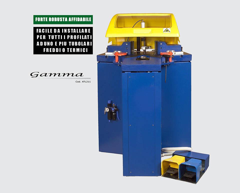 cianfrinatrice gamma