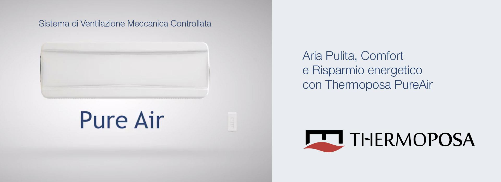 PureAir, Ventilazione Meccanica Controllata