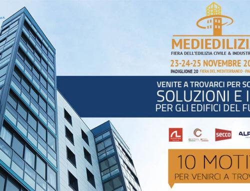 Mediedilizia 2018 – Fiera dell'Edilizia civile & industriale