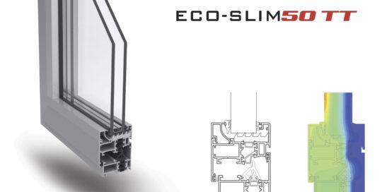 Nuovi profili eco-slim50 TT