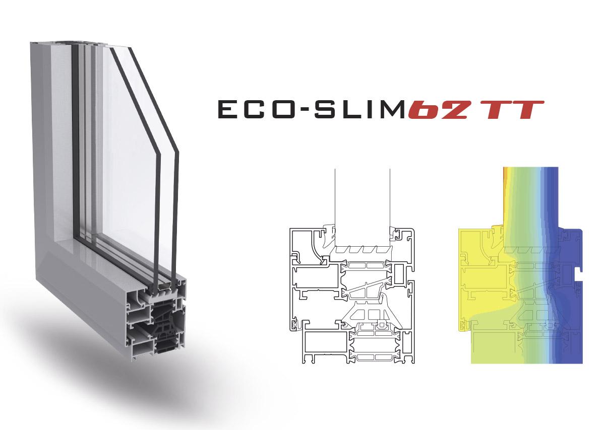 Nuovi profili eco-slim62tt
