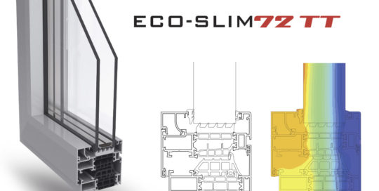Nuovi profili eco-slim72tt