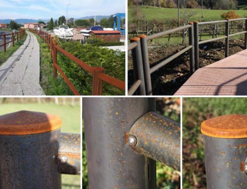 Recinzioni in Corten: basso costo, sostenibilità ambientale e design